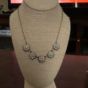 Chloe & Isabel gold necklace with flower pendants